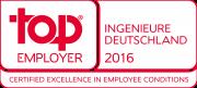 Top Employer Ingenieure Deutschland 2016