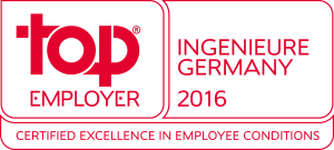 Top Employer Ingenieure Germany 2016