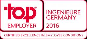 Top Employer Ingenieure Germany 2016